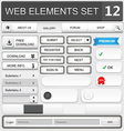 Web elements set 12