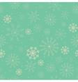 Snowflake pattern vector image
