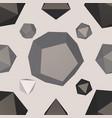 3d modern seamless pattern vector image vector image