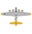 b-17-flying-fortress vector image