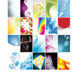 Business Card Collection vector image vector image