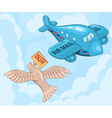 Carrier pigeon and plane