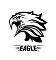 Eagle head fly logo black icon tattoo