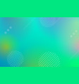 geometric abstract gradient background vector image vector image