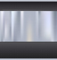 Metal texture plate vector image vector image