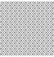 monochrome seamless thin swirls pattern vector image