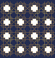 vintage gold art deco frame seamless pattern vector image vector image