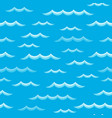 waves theme seamless background 2 vector image