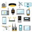 Wifi remote control electronic gadgets vector image vector image