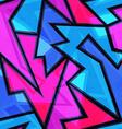 purple geometric seamless texture vector image