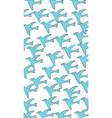 blue birds bird art abstract brand branding vector image