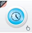 Clock sign icon Mechanical clock symbol vector image vector image