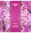 pink background with space for inscriptions and vector image vector image