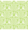 seamless repeating pineapple pattern on vector image vector image