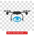 Spy Drone Eps Icon vector image vector image