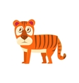 Tiger Toy Exotic Animal Drawing vector image