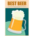 Best Beer vector image
