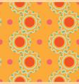 abstract circle shapes and polka dots vector image