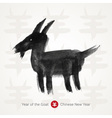 Chinese Lunar Year of the Goat vector image vector image