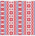 lapland seamless pattern scandianvian folk vector image vector image