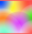 light abstraction blurred multicolor rainbow vector image