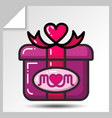 mothers day icons 2 vector image vector image