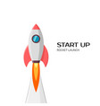 startup project concept business flat design vector image