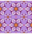 Summer theme seamless pattern vector image