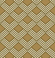 abstract geometric ribbon pattern seamless vector image vector image