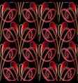 abstract modern decorative paisley seamless vector image vector image