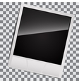 blank for instant photos vector image vector image