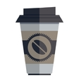 Coffee Container vector image