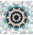 Mandala like frame vector image vector image