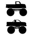 monster truck 04 vector image vector image