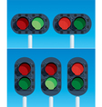 Railway traffic lights vector | Price: 1 Credit (USD $1)