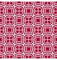 Seamless geometric pattern Imitation of Chinese vector image vector image