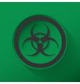 Sign biological hazard vector image vector image