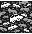 Cute seamless pattern with vintage cars vector image vector image