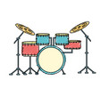 Drums musical instrument to play music