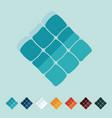 Flat design ketupat vector image vector image
