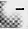 grunge style halftone dots background vector image vector image