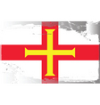 Guernsey national flag vector image vector image