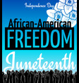 juneteenth african-american independence day