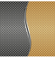 metallic background vector image vector image