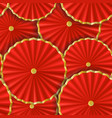 paper umbrellas abstract seamless pattern vector image