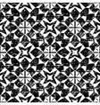 Seamless geometric pattern in modern hipster style vector image vector image