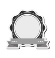 Vintage style emblem icon vector image