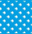 antarctica map pattern seamless blue vector image