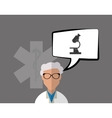 Doctor design Medical care concept Health care vector image vector image