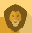 lion icon set of great flat icons design vector image